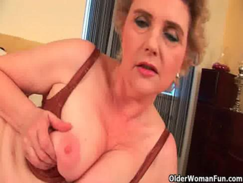 Granny with big tits and hairy pussy fucks a dildo Watch Grandma Old Pussy Xxx Porn Videos Page 2